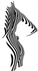 Silhouette de femme pour la chirurgie à Marseille