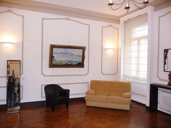 Salle d'attente du cabinet du Dr Courbier à Marseille