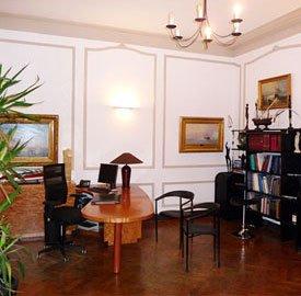 Bureau du cabinet du Dr Courbier à Marseille